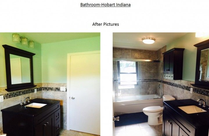After Bathroom Remodel Hobart, IN