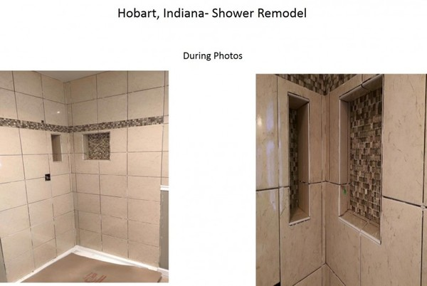 During Shower Remodel Hobart, IN