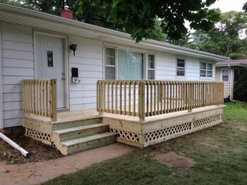 Deck Building in Valparaiso, IN
