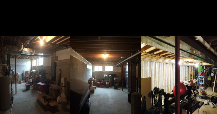 Before & After Crown Point Indiana Basement Remodel