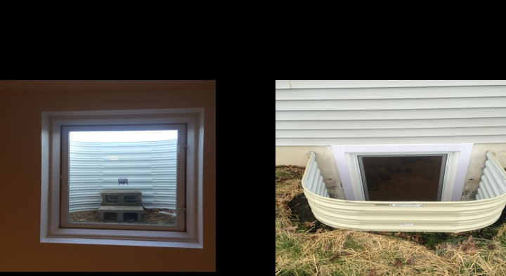Kouts Egress Window Install